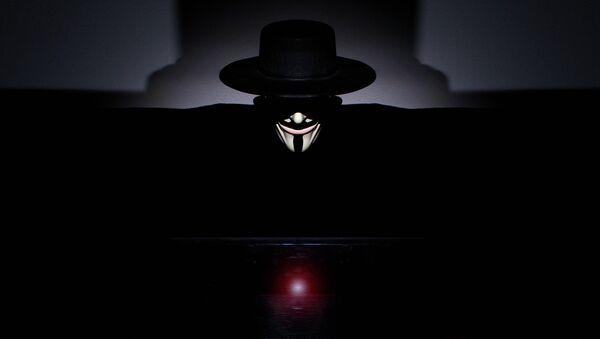 Anonymous hacktivist - Sputnik International