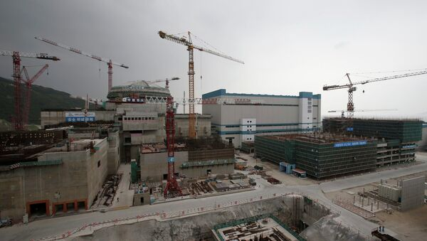 A nuclear reactor and related factilities as part of the Taishan Nuclear Power Plant, to be operated by China Guangdong Nuclear Power (CGN), is seen under construction in Taishan, Guangdong province - Sputnik International