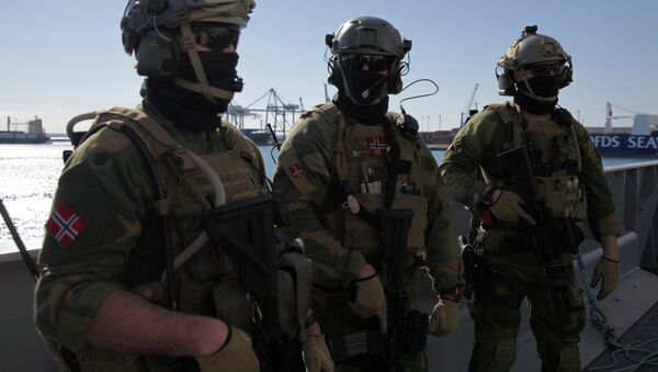 Norwegian navy special forces - Sputnik International