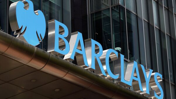 A view of Barclay's headquarter at London's Canary Wharf financial district - Sputnik International