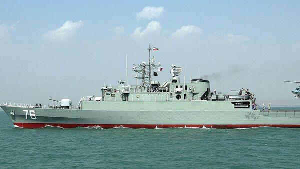 Jamaran frigate of Iranian navy - Sputnik International