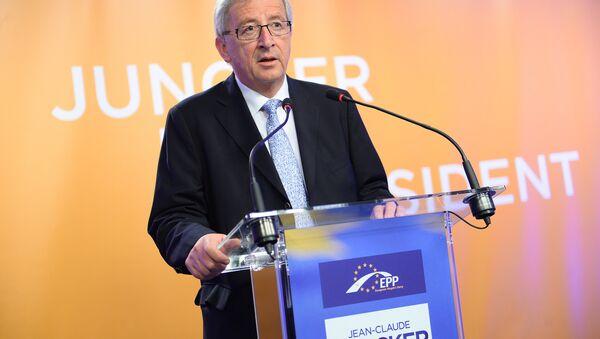 European Commission chief Jean-Claude Juncker - Sputnik International
