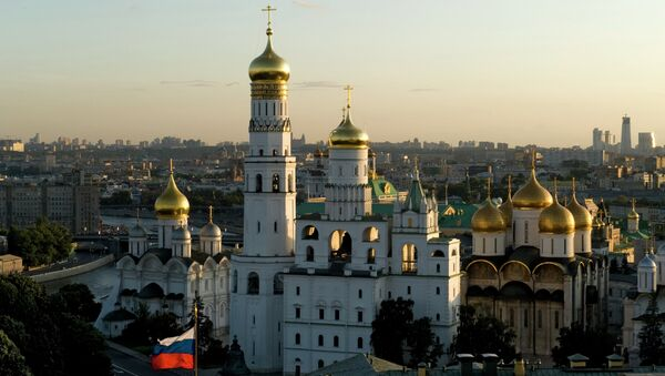 The Annunciation Cathedral and the Ivan the Great Bell-Tower at the Moscow Kremlin. - Sputnik International