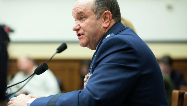 Philip Breedlove, commander of Supreme Allied Command Europe and U.S. European Combatant Command, testifies before a House Armed Services Committee hearing on Capitol Hill in Washington February 25, 2015 - Sputnik International