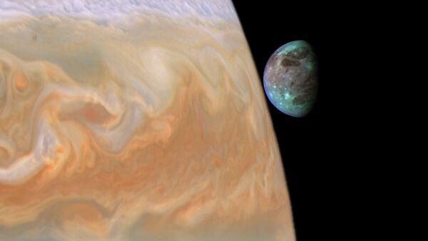 Jupiter and Ganymede  - Sputnik International