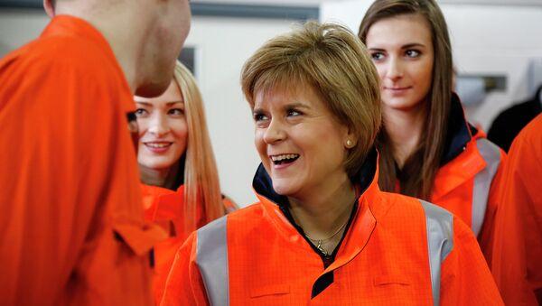 Scotland's First Minister Nicola Sturgeon - Sputnik International