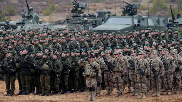 Lithuania NATO Exercise - Sputnik International
