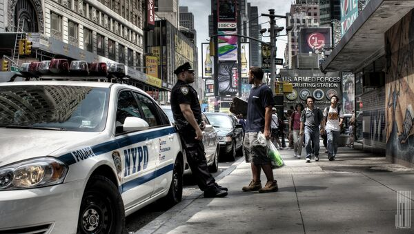 NYPD Times Square - Sputnik International