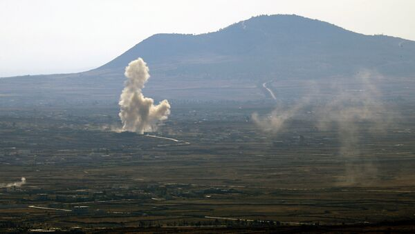 Golan Heights - Sputnik International