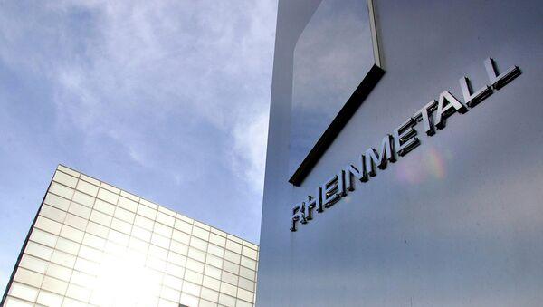 Rheinmetall logo - Sputnik International