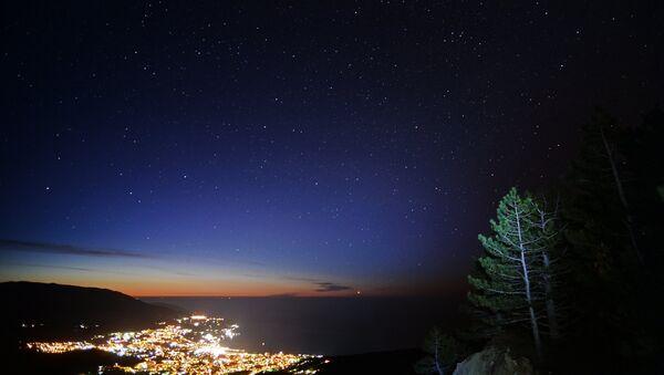 View of Yalta city from the Ai-Petri mountain. - Sputnik International