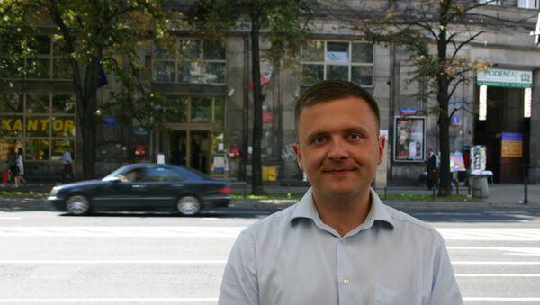 Mateusz Piskorski, the head of Poland's Zmiana (Change) party - Sputnik International