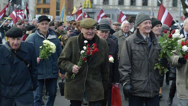 Veterans of the Latvian Legion - Sputnik International