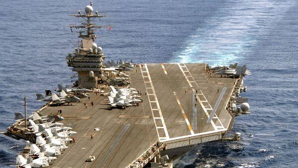 USS Theodore Roosevelt (CVN-71) - Sputnik International