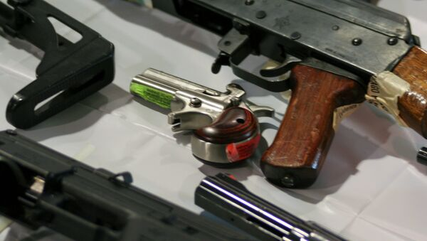 CPD seized all of these guns - Sputnik International