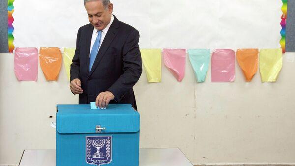 Israel's Prime Minister Benjamin Netanyahu - Sputnik International