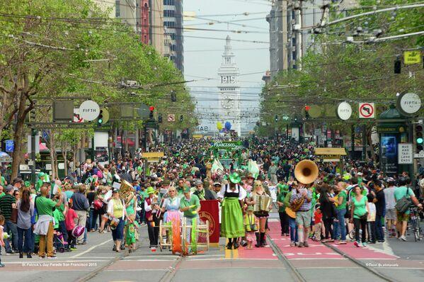 St Patrick's day parade in San Francisco. - Sputnik International
