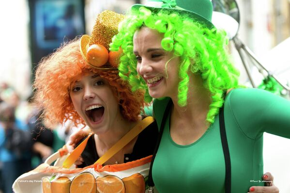 Participants of the San Francisco St. Patrick's Day Parade and Festival. - Sputnik International