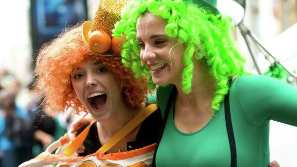 Participants St. Patrick's Day Parade - Sputnik International