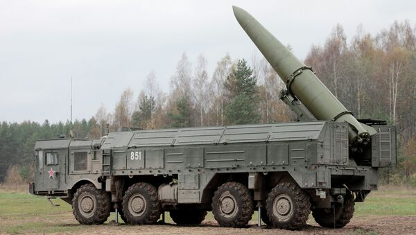 Iskander missile system. File photo - Sputnik International