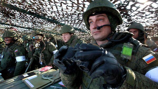 Pacific Fleet Marines hold exercise in Primorsky region - Sputnik International