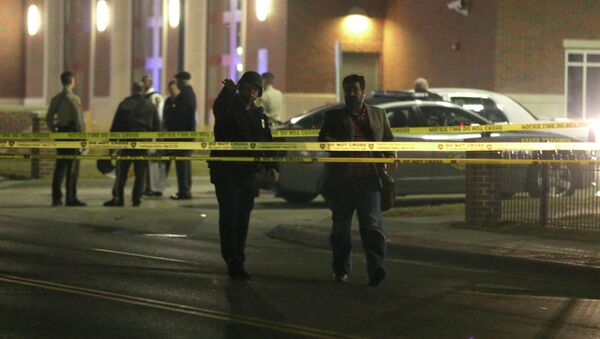Police in Ferguson - Sputnik International