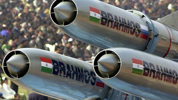 India's supersonic Brahmos cruise missiles - Sputnik International