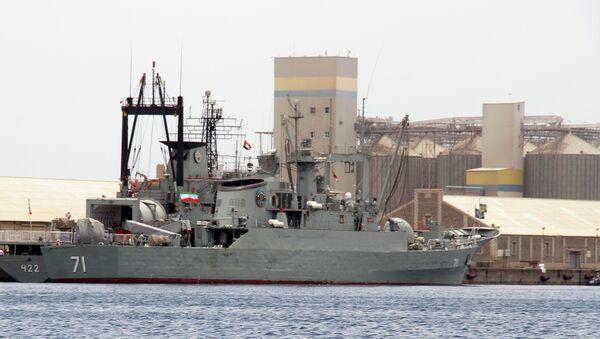 Iranian military ships frigate - Sputnik International