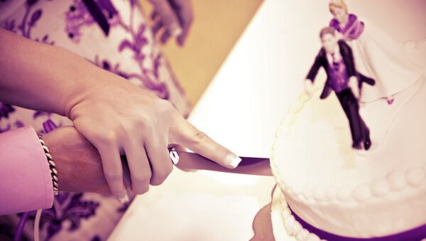 Wedding cake - Sputnik International