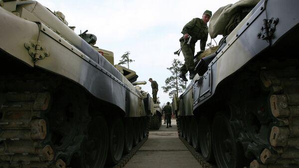 T-72 tanks - Sputnik International