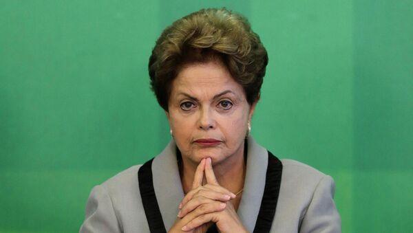Brazil's President Dilma Rousseff - Sputnik International