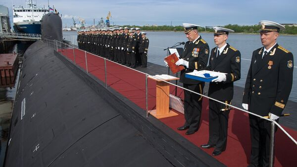 First multirole Yasen SSBN adopted by Russian Navy - Sputnik International