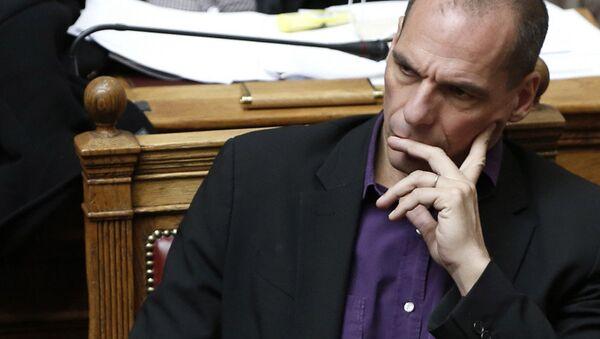Greek Finance Minister Yanis Varoufakis - Sputnik International