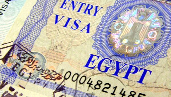 Entry visa to Egypt - Sputnik International