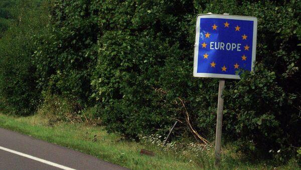 EU border - Sputnik International