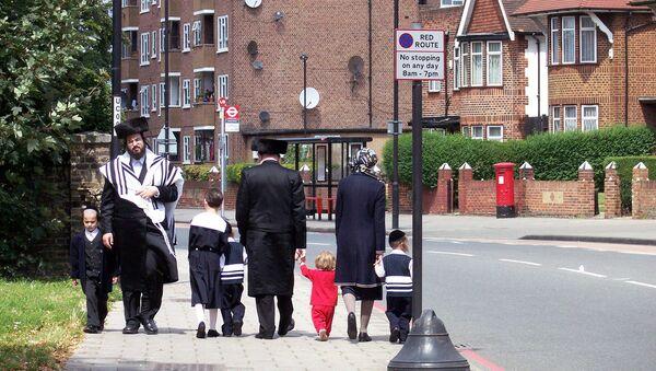 Hasidic Jews in Hackney, London - Sputnik International