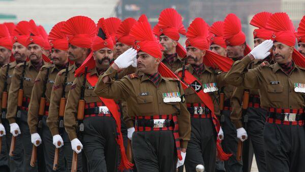 Indian army soldiers - Sputnik International