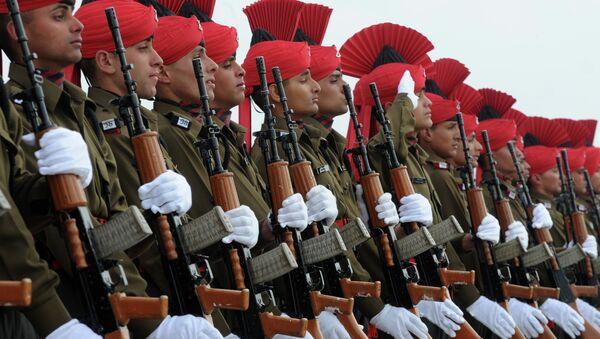 Indian military recruits  - Sputnik International