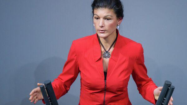 Sahra Wagenknecht - Sputnik International
