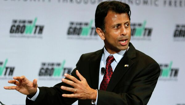 Louisiana Governor Bobby Jindal, an outspoken  critic of the man-made climate change, is likely in a political hot seat because of the FEMA regulation. - Sputnik International