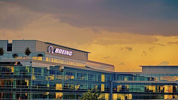 Boeing Regional Headquarters in Arlington, Virginia. - Sputnik International