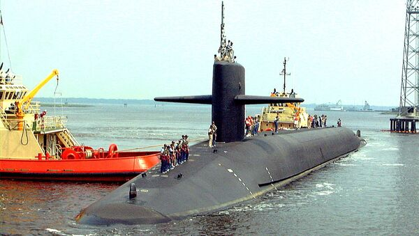 The USS Louisiana, the last of the 18 Trident submarines, arrives at its homeport, the Naval Submarine Base in Kings Bay. (File) - Sputnik International
