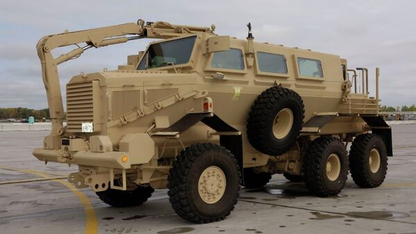 The United States Army is investing $22.7 million to obtain Buffalo A2 M1272 armored trucks in order to improve its arsenal of armored vehicles, US defense contractor General Dynamics said in a release - Sputnik International