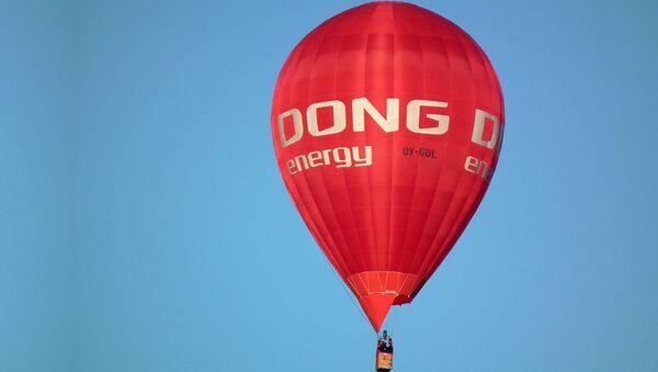 Dong Energy air balloon - Sputnik International