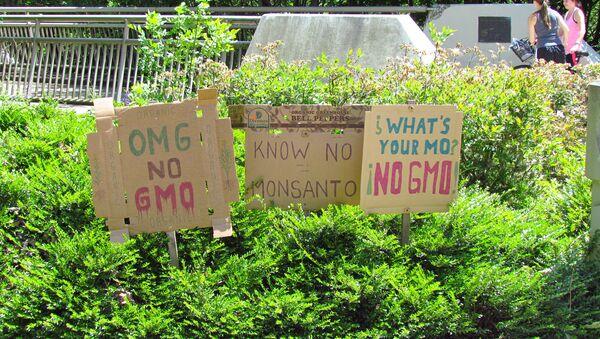 March against Monsanto - Sputnik International