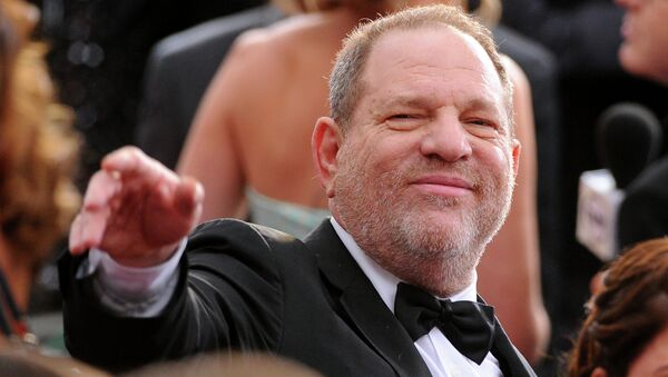 Harvey Weinstein arrives at the Oscars on Sunday, Feb. 22, 2015, at the Dolby Theatre in Los Angeles. - Sputnik International