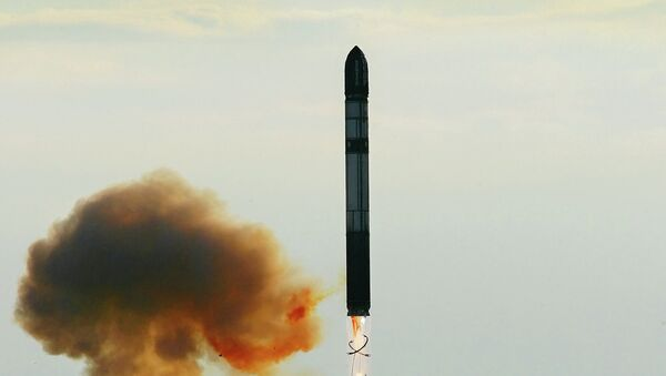 Russian Strategic Missile Forces have successfully launched an RS-20B (SS-18 Satan Mod. 4) intercontinental ballistic missile carrying a South Korean satellite, Russian Defense Ministry spokesman Col. Igor Egorov has announced - Sputnik International