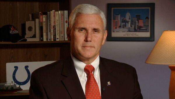 Indiana Governor Mike Pence - Sputnik International