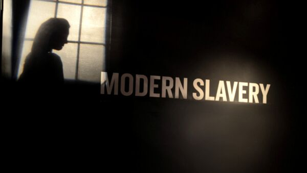 Modern slavery - Sputnik International