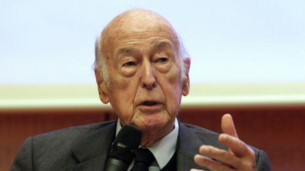 Valery Giscard d'Estaing - Sputnik International